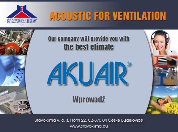 Ventia - Program AKUAIR do kalkulacji oraz doboru produktów tłumiących