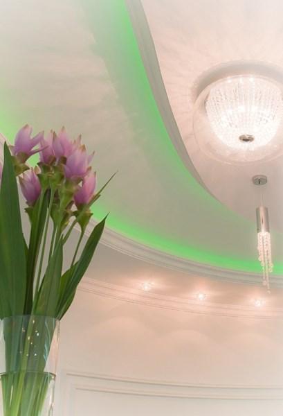 Oświetlenie LED salonu kosmetycznego, Zastosowanie taśm LED - SOLED