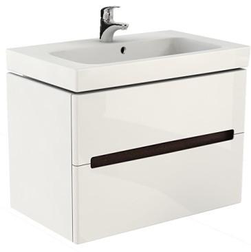 Sanitec Koło - umywalka Modo 80 z wiszącą szafką podumywalkową