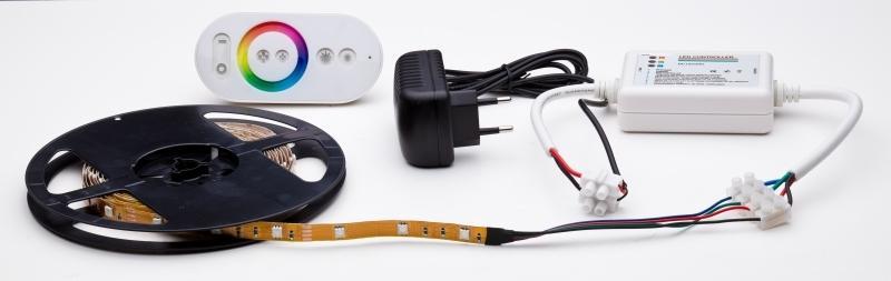 Zestaw oświetlenia sufitu LED RGB ze sterownikiem RGB - producent SOLED