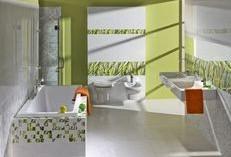 Ceramika Pilch - aranżacja łazienki z płytkami łazienkowymi z kolekcji Carrara