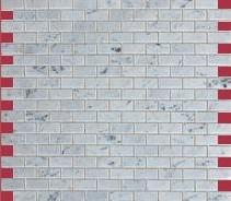 Ceramika Pilch - płytki łazienkowe z kolekcji Carrara - mozaika kamienna
