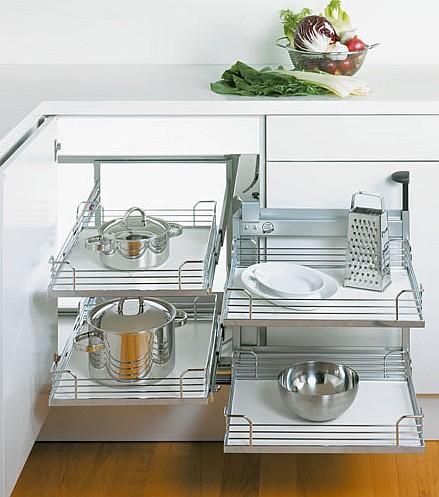 Peka - szafki kuchenne narożne - MAGIC CORNER COMFORT