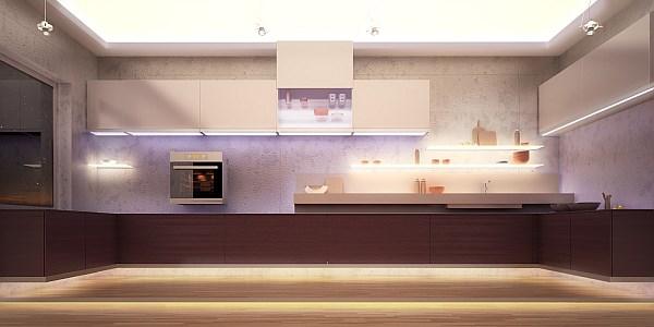 SOLED - zastosowanie oświetlenia LED w kuchni