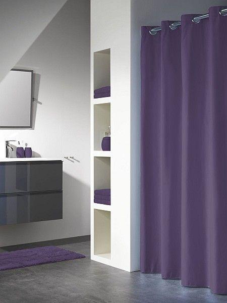 Coram - zasłona prysznicowa Sealskin Coloris