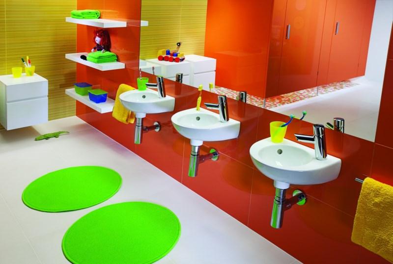 Kolorowa I Bezpieczna łazienka Dla Dzieci Boksy Wszystko O