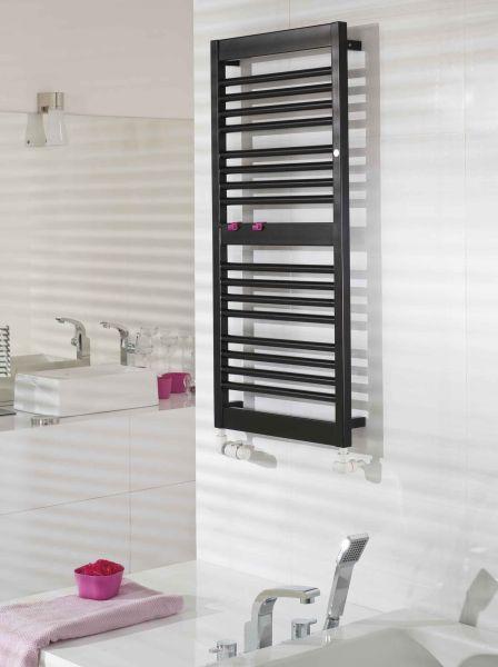 Instal-Projekt - łazienka w stylu fashion, grzejnik Frame