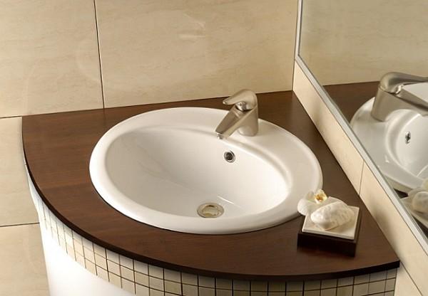 Deante - umywalka wpuszczana w blat Vanilla
