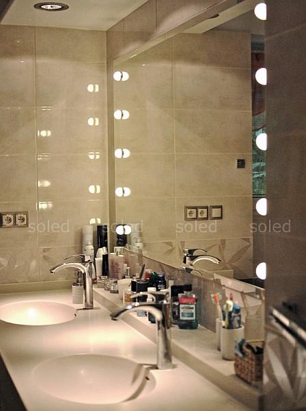 Soled - oświetlenie lustra łazienkowego
