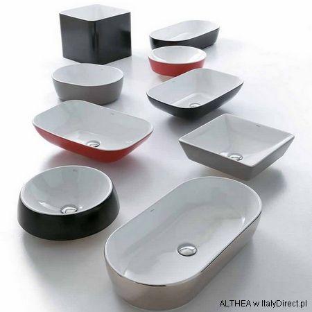 Althea Ceramica color - umywalki