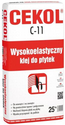 CEKOL C-11- wysokoelastyczny klej do płytek