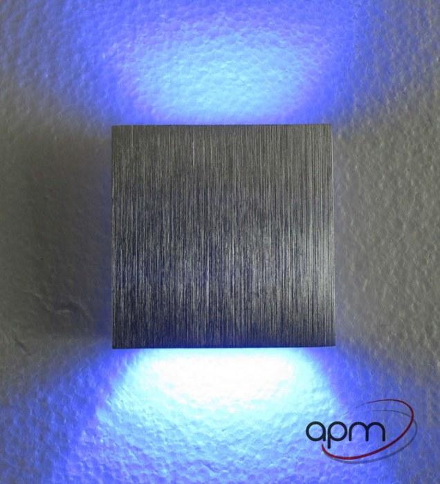 KINKIET LED DOUBLE BLUE -