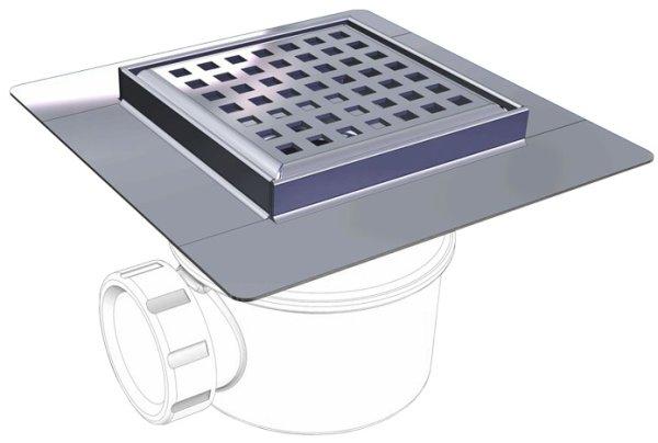 Odwodnienie punktowe prysznicowe VKI 100 - wpust podłogowy LAF