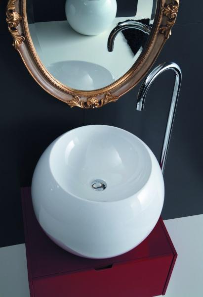 umywalka Sfera w kształcie kuli Coram Disegno