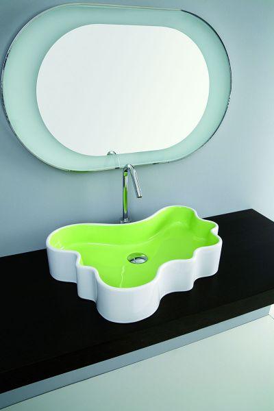 Coram - Umywalka Splash Mini zielona