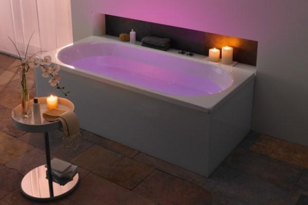 romantyczna k piel we dwoje wanny kabiny brodziki. Black Bedroom Furniture Sets. Home Design Ideas