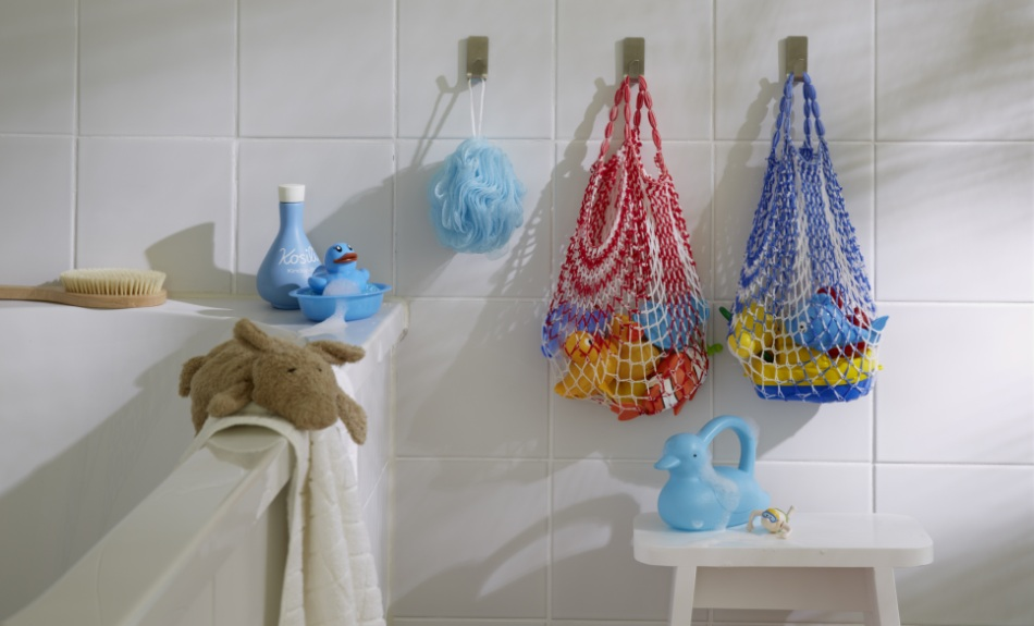 Woreczki na zabawki kąpielowe