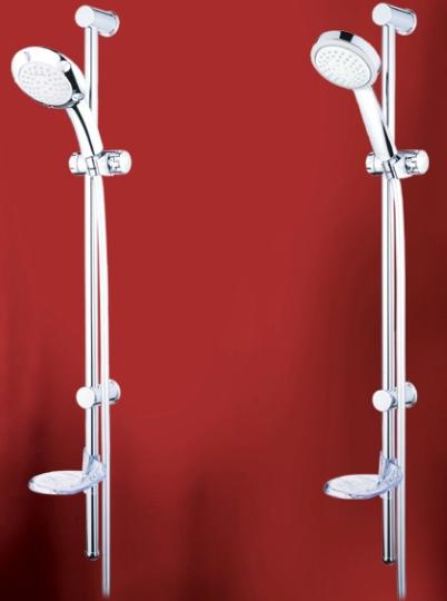 Zestawy prysznicowe Alterna serii Bellis i Gladius