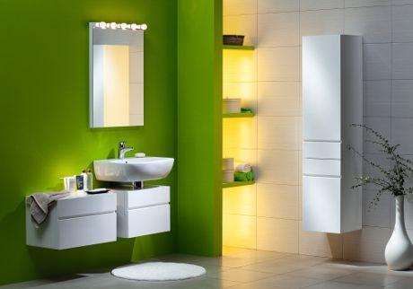 Zielona łazienka Boksy Wszystko O łazienkach