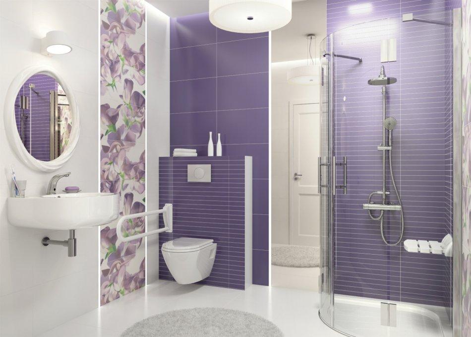 Deante - fiolet w łazience