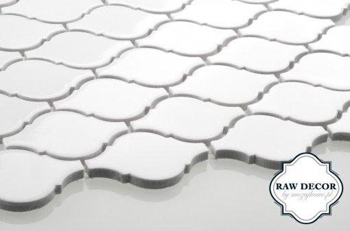 mozaika Arabeska - biała