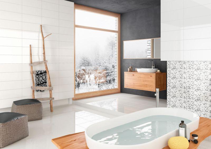 biała łazienka aranżacja