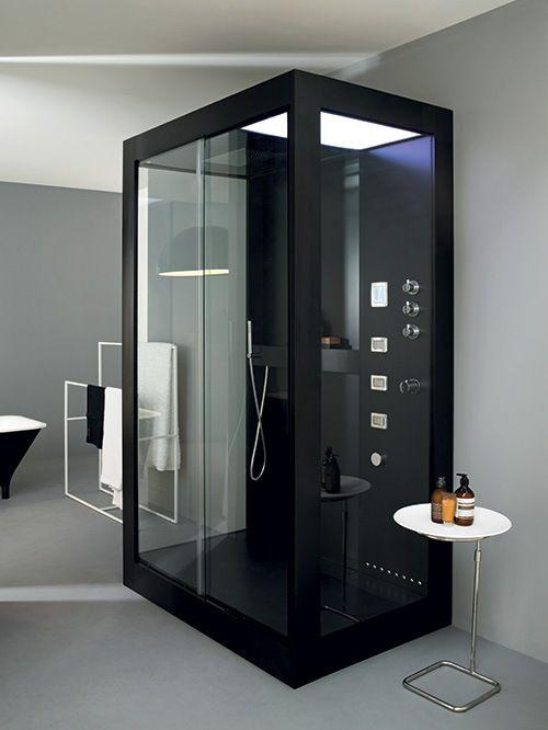 aluminiowa kabina prysznicowa avec design ze wiata. Black Bedroom Furniture Sets. Home Design Ideas