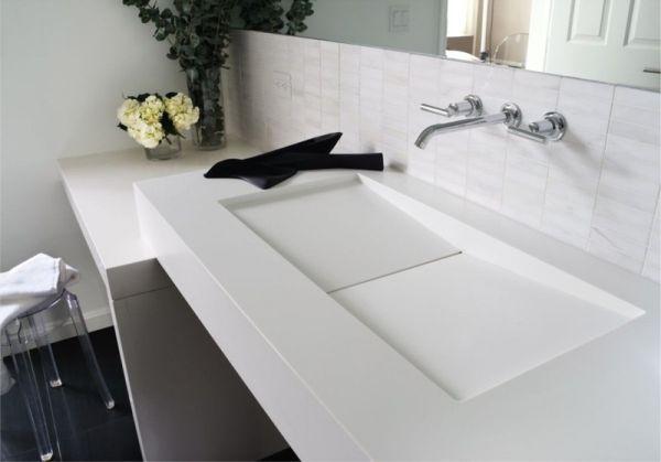 Luxum - umywalka z odpływem liniowym