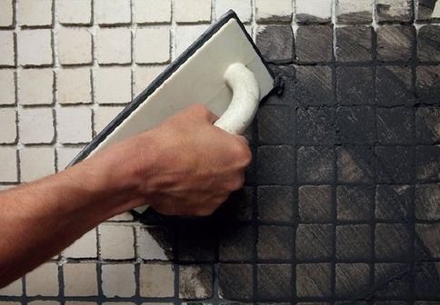 fugowanie mozaiki mira
