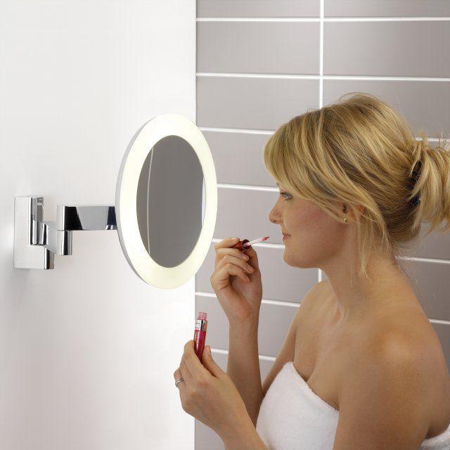 Podświetlane lusterko w łazience