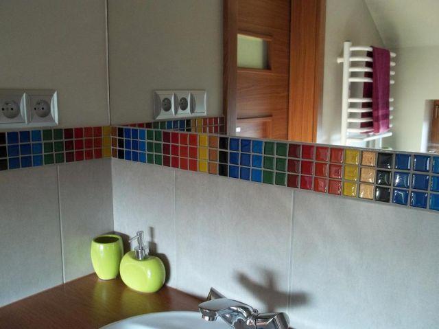 pasek kolorowej mozaiki