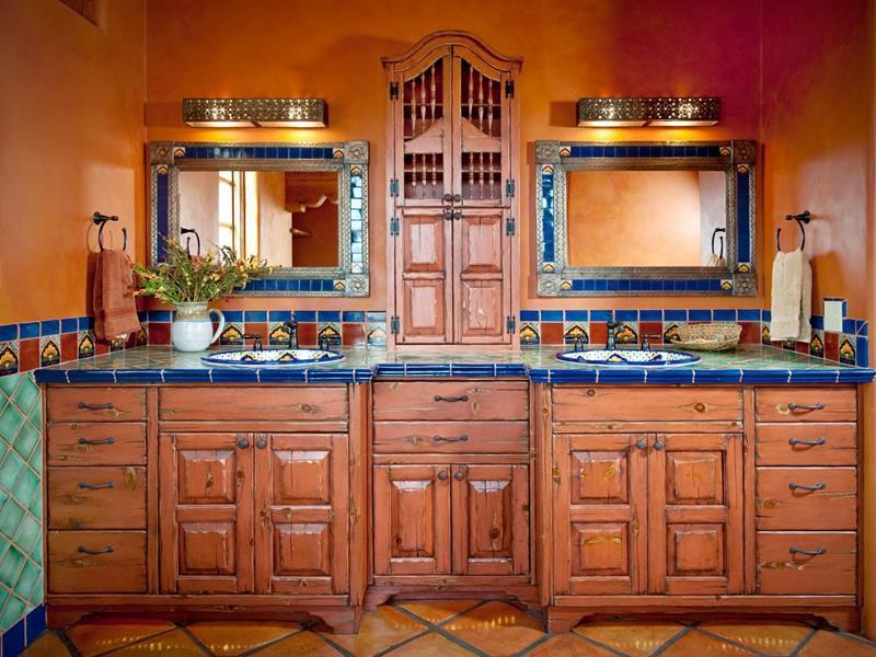 łazienka W Stylu Meksykańskim Boksy Wszystko O łazienkach