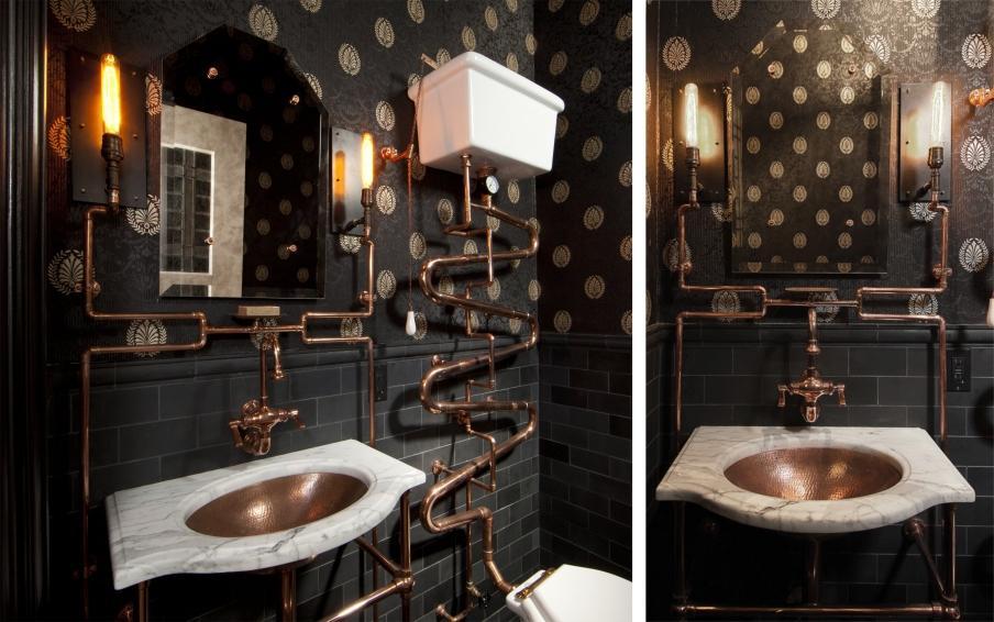 Styl Industrialny W łazience Style W łazience Lazienkowypl