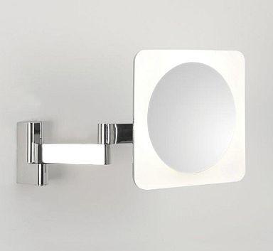 Aurora Technika Świetlna - Podświetlane lusterko powiększające pięciokrotnie Niimi Square 0815