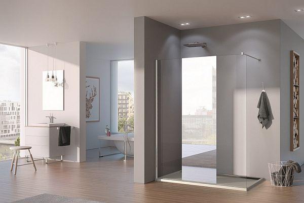 Łazienki z pomysłem - pomysł na lustro