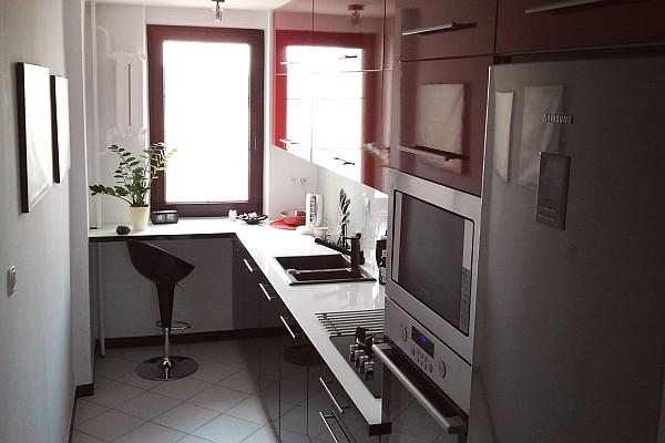 Jak urządzić małą kuchnię  porady  Kuchenny com pl -> Mala Kuchnia Z Oknem Projekt