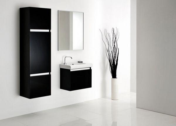 Antado - meble łazienkowe z błyszczącymi frontami