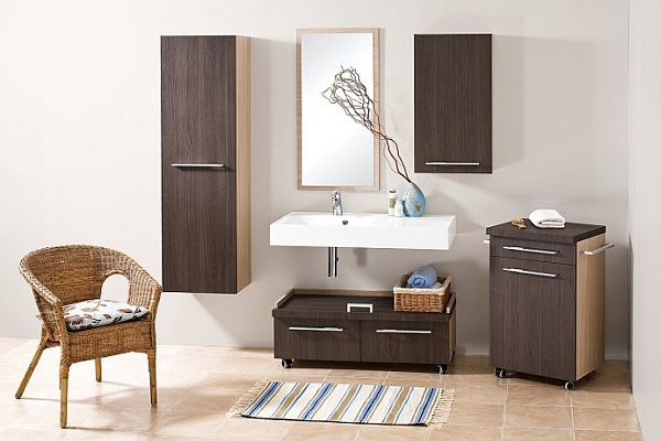 Antado - meble łazienkowe na kółkach