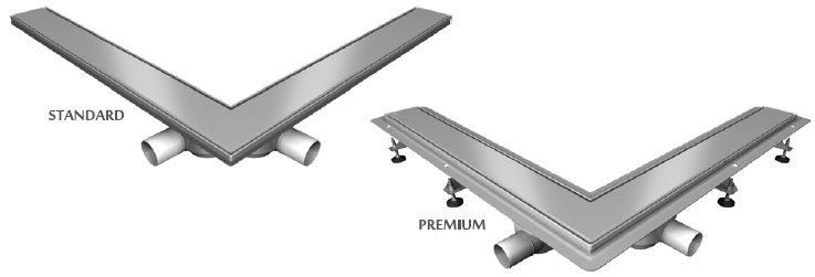 Vabo - odwodnienie kątowe Premium i Standard