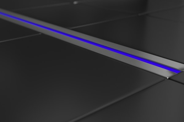 Odwodnienie liniowe z podświetleniem LED - LAF