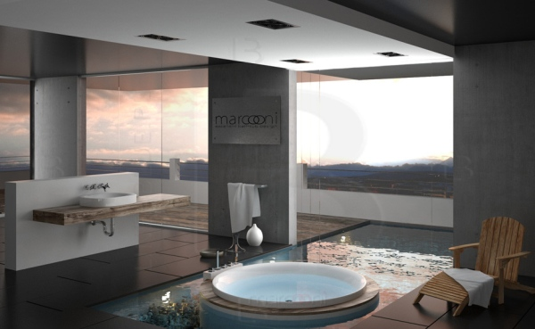 Łazienka w stylu pokoju kąpielowego - style w łazience lazienkowy.pl