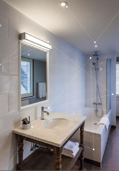 Oświetlenie ogólne łazienki Aurora Technika Świetlna