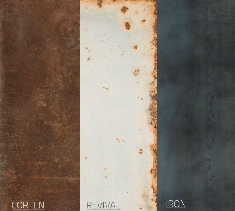 Płytki imitujące Metal kolekcja Metal Style Ergon Tile