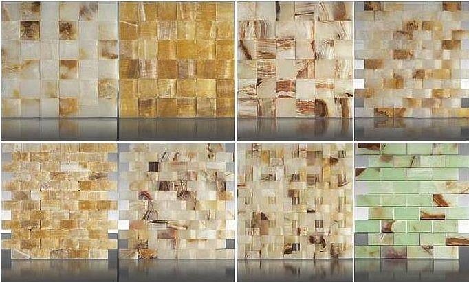 Kamienne mozaiki ścienne
