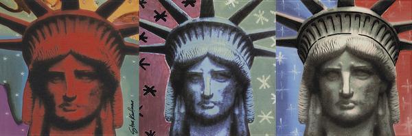 Płytki Pop Art Lady Liberty Steve Kaufman Settecento