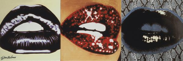 Płytki Pop Art Lips Steve Kaufman Settecento