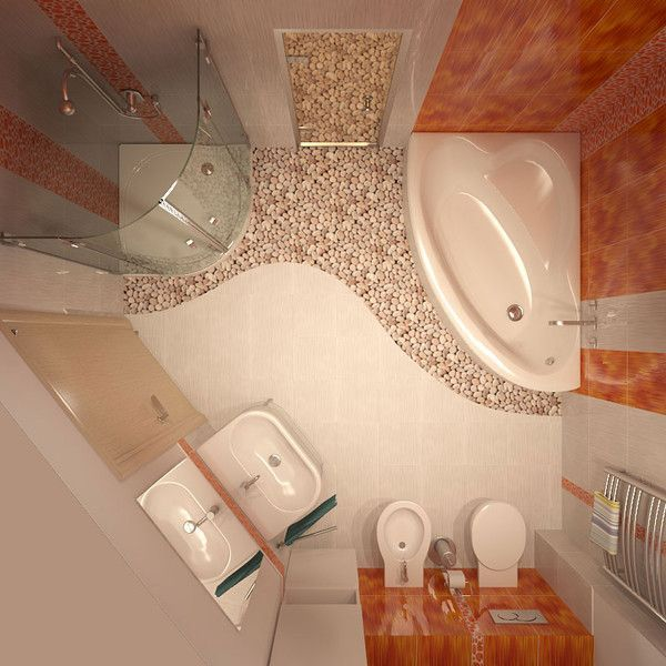 Podłoga w łazience - łączenie materiałów