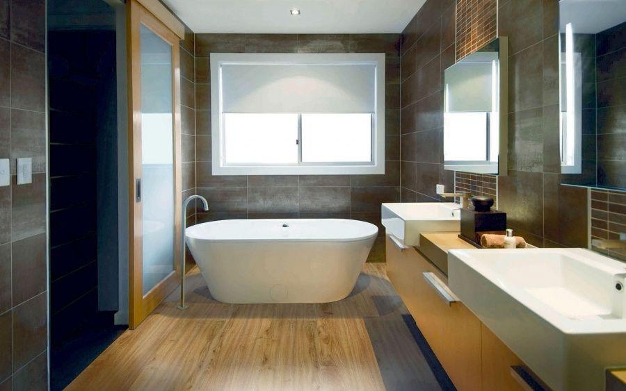 Podłogi Kopp - wykładzina winylowa w łazience