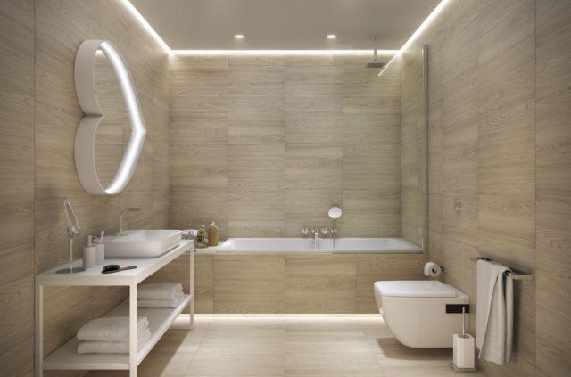 Sufity podwieszane łazienka