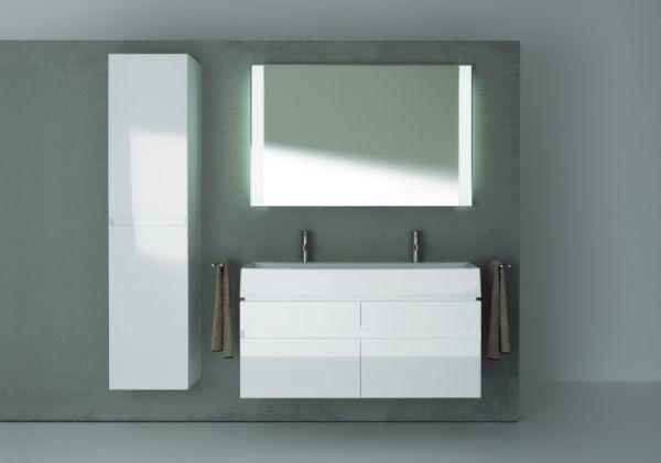 KOŁO - lustro łazienkowe z serii Quattro